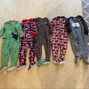 Carter's Fleece Pajamas 24M